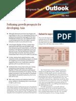 Asian Development Outlook 2013 Supplement