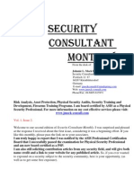 Security Consultant Monthly Jan 09