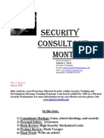 Security Consultant Monthly March 09