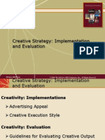 creative strategy implimentation