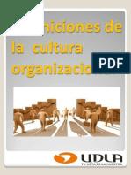Definiciones de La Cultura Organizacional