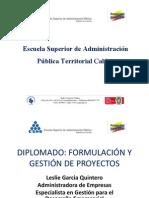 Presentacion Diplomado Formulacion de Proyectos Esap 2013 [Autoguardado]