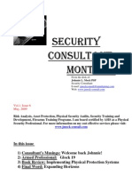 Security Consultant Monthly May 2009