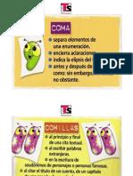 Español signos de puntuación