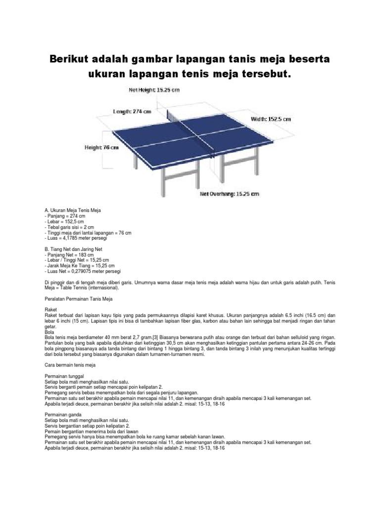 Meja Ping Pong