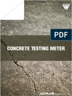 Concrete Testing Meter Category