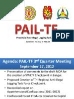 Illegal Logging Task Force Presentation for CY 2010- 2011 in Ilocos Norte