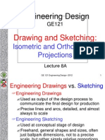 Lecture 8A Isometric and Orthographic 2012