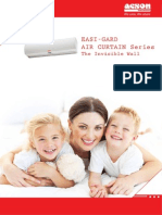 Acson Catalogue ~ Easi-Gard Air Curtain Series (1201)