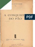 kropotkin - 1953 - A CONQUISTA DO PÃO