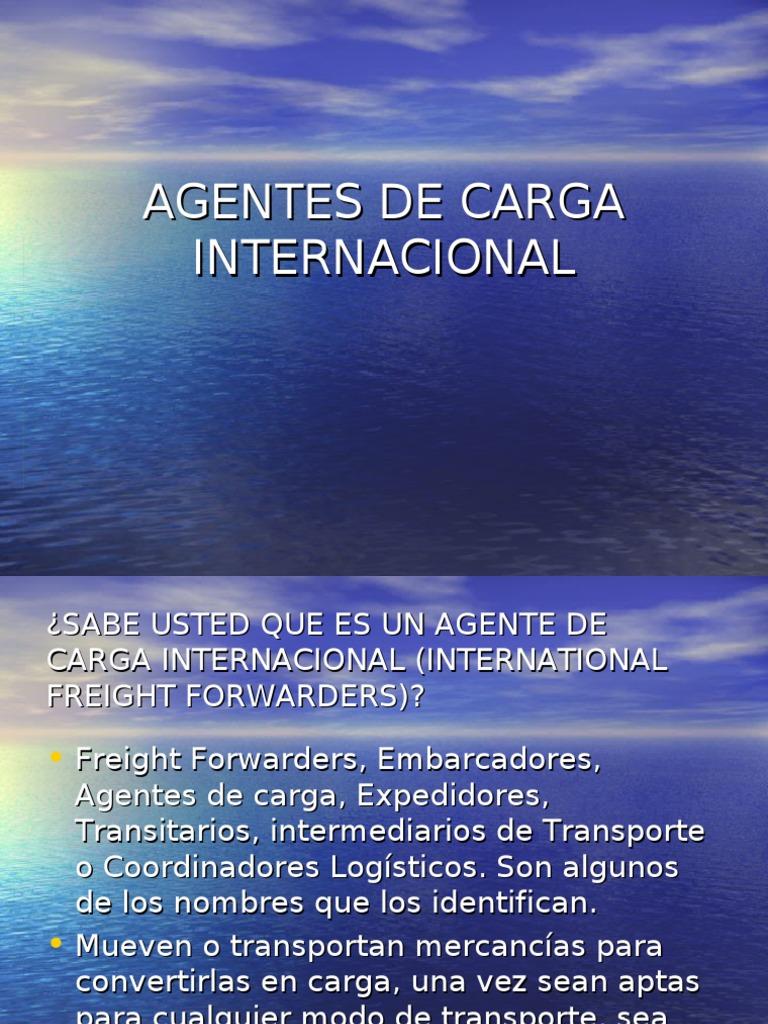 carga internacional
