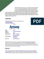 Sejarah Amway