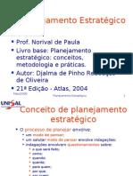 Aula planejamento estratégico 2008