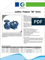 CGL Centrifugal MI Series Pump