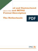 ING Payments MT940 Format Description