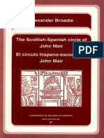 The Scottish-Spanish Circle of John Mair. Some Basic Themes