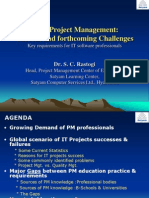 IT(es) Project Management - Current and forthcoming Challenges.ppt