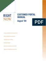 Aug09 Customer Portal