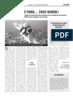 Le Pélican - Un travail de fond... sous marin