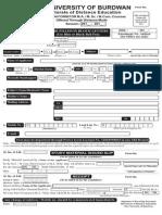 Admission Form Dde 2013