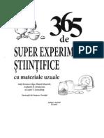 365 de Super Experimente Stiintifice
