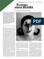 Il corpo, nessuna identità. Intervista a Marina Abramovic