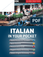 Globetrotter Italian in your Pocket Phrase Book