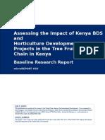 mR 33 - Kenya Impact Assessment