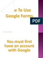 How to Use Google Forms2