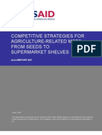 mR 37 - Competitive Strategies for Agriculture-Related MSEs