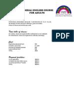 VEA Course Details