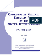 CMS Medicaid Integrity 0608 Fy08cmip