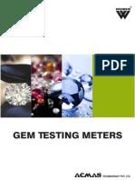 Gem Testing Meters Category