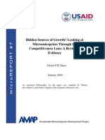 mR 7 - Hidden Sources of Growth? Looking at Microenterprises through the Competitiveness Lens