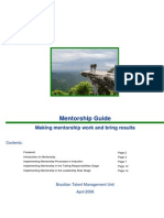 Mentorship Guide