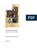 My Life With Charles Manson, by Paul Watkins