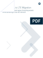 UMTS to LTE Migration White Paper