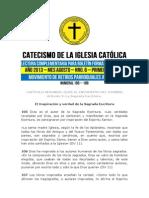 Catecismo 1ra Sem Agosto