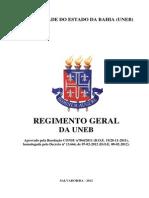 Regimento Geral Da Uneb 2012