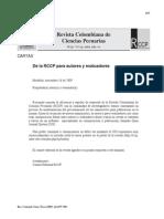 Pasteurella Multocida y Mannheimia Haemolytica en Colombia