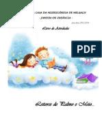 Capa - Livro de Atividade Leitores de Palmo e Meio