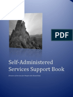 People with Disabilities, Self-Administered Services Support Book