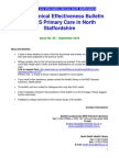 Clinical Effectiveness Bulletin 80 Sep 13