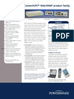 ConnectUPS Web - SNMP Brochure