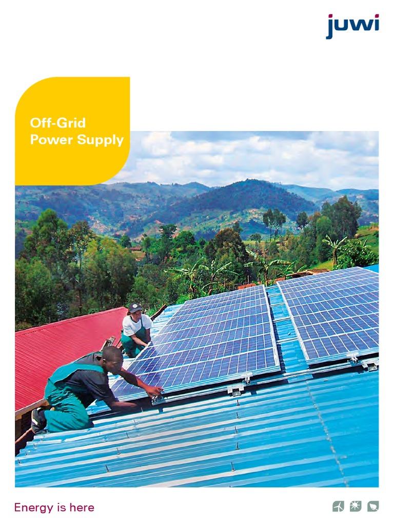 Off grid Solar power supply | Solar Power | Photovoltaics