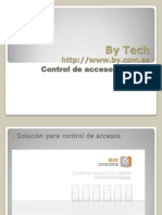 By Tech Control de Accesos - Six Doors