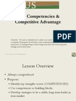 core competencies and competitive advantage