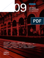 UBC Press Scholarly Catalogue Fall 2009
