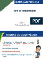 Admpub Estrutura Governamental Seminario Tematico II Governamental PDF