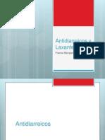 Antidiarreicos y Laxantes